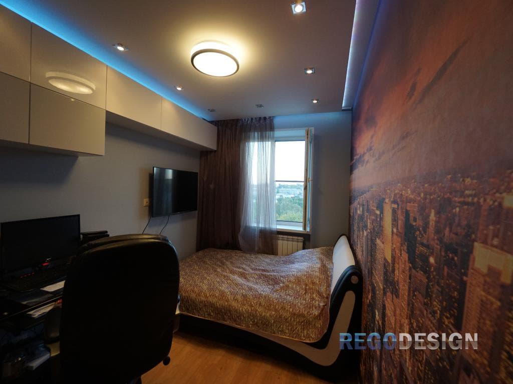 дизайн комнат в квартире фото реальные