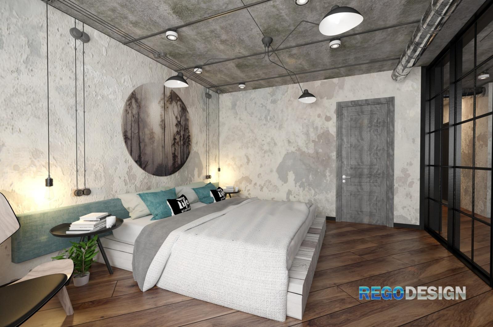 Дизайн спальни в мансарде - идеи интерьера